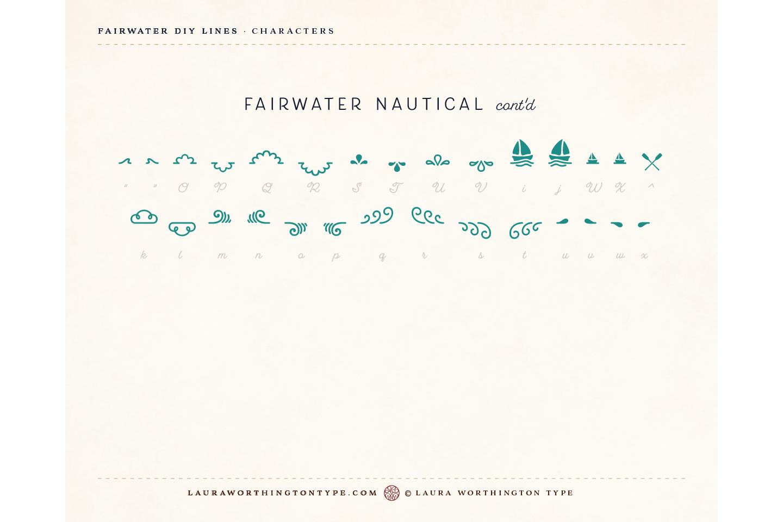 Fairwater DIY Lines example image 29