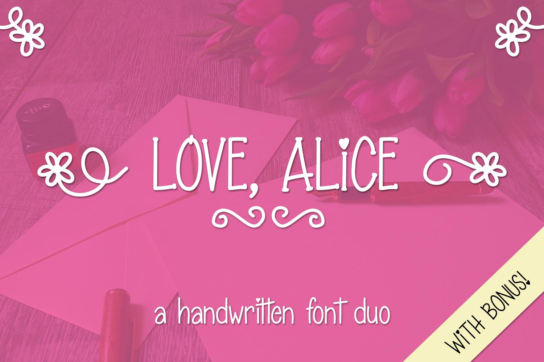 Love Alice example image 1