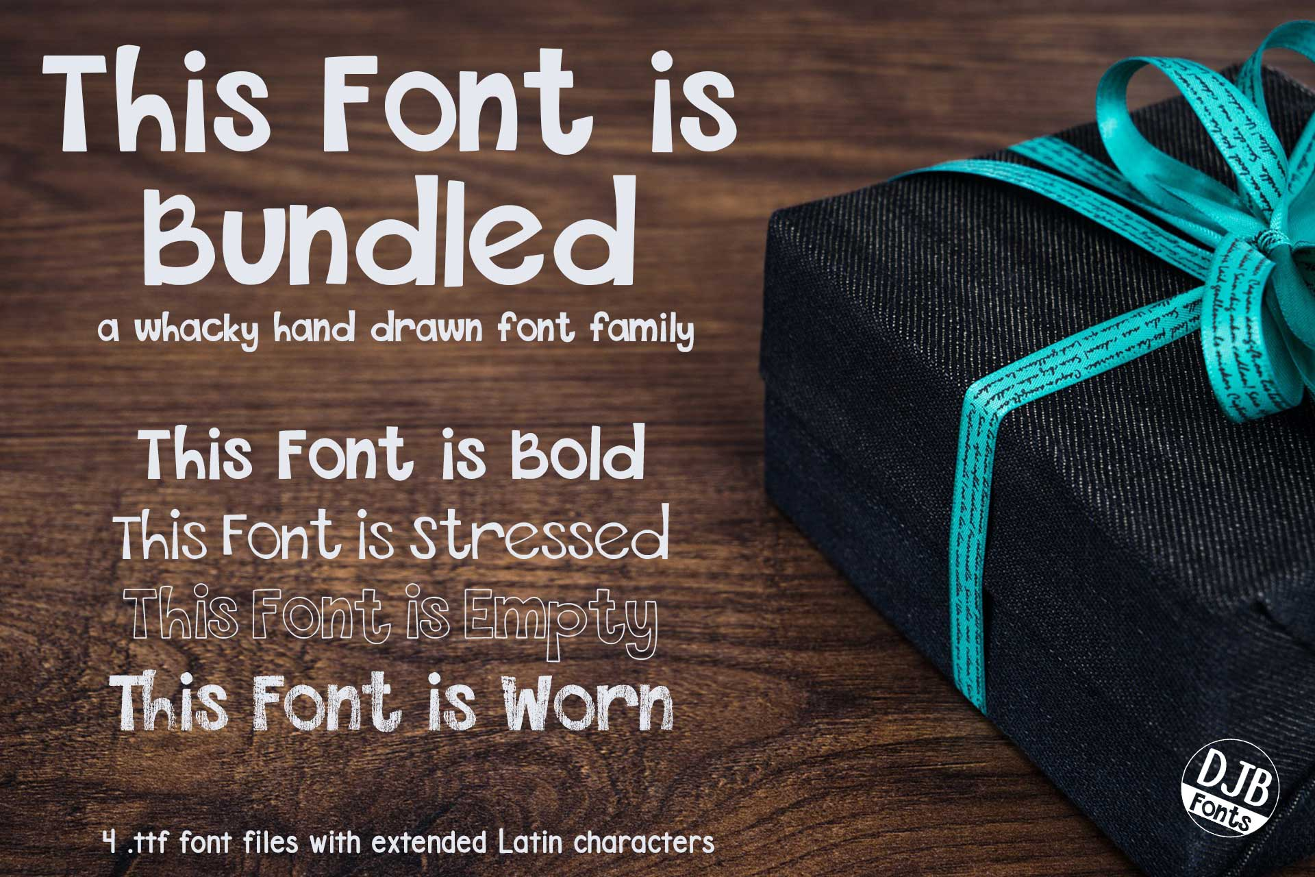DJB This Font is Bundled example image 1