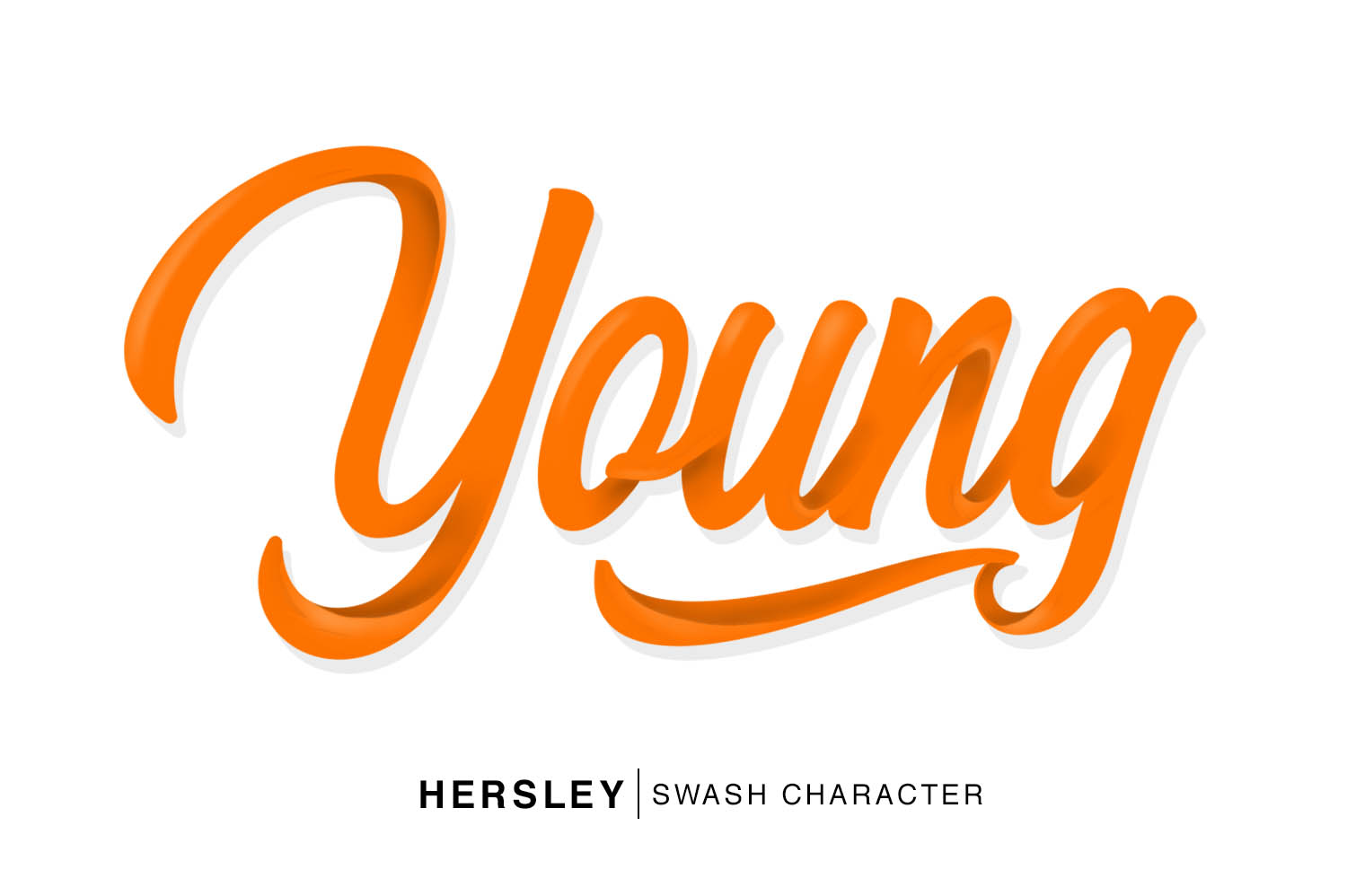 Hersley Typeface example image 4