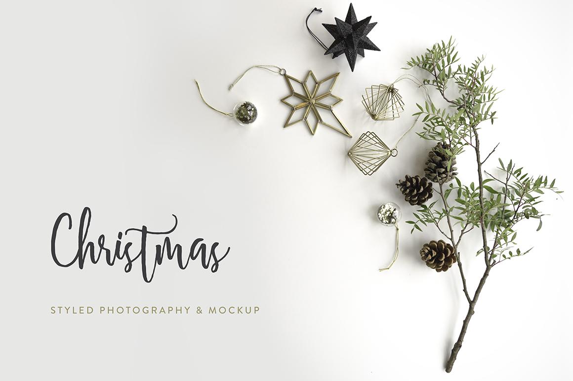 Christmas Styled Photo&Mockup #01 example image 8