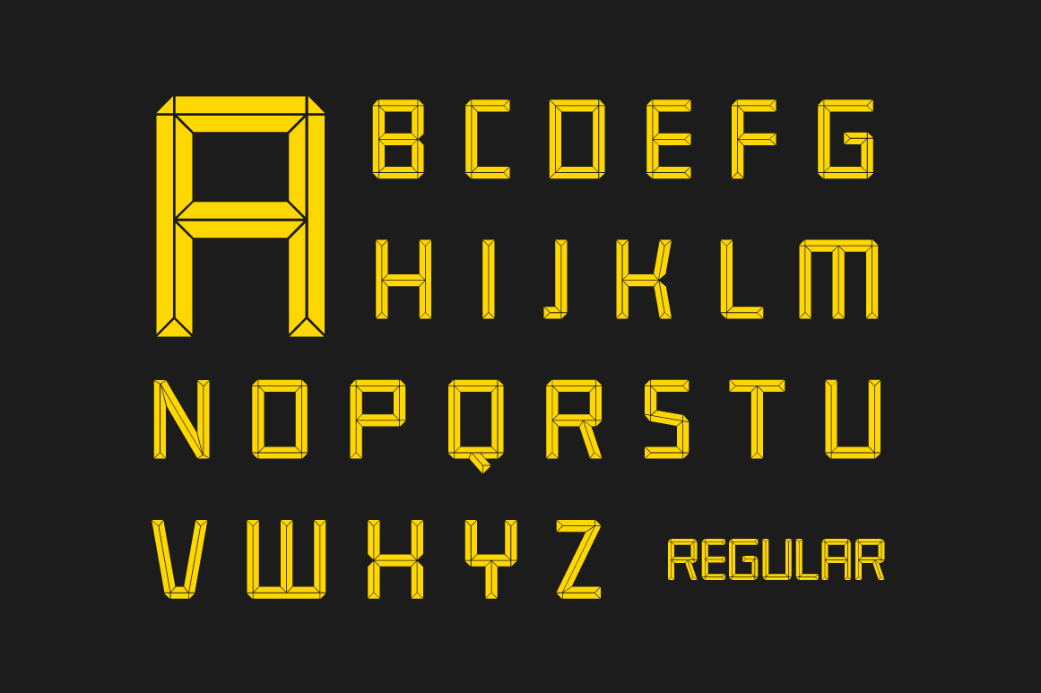 Construct family font example image 3