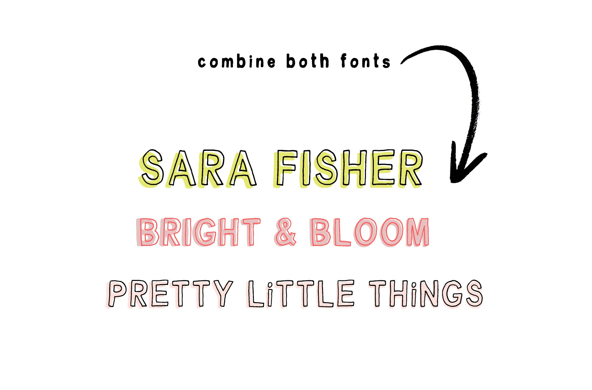 Little Dreamer Font Duo example image 8