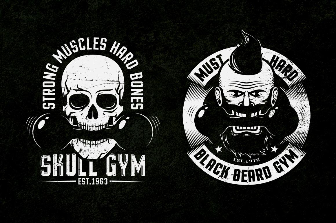 Gym Retro Logo 2 example image 10
