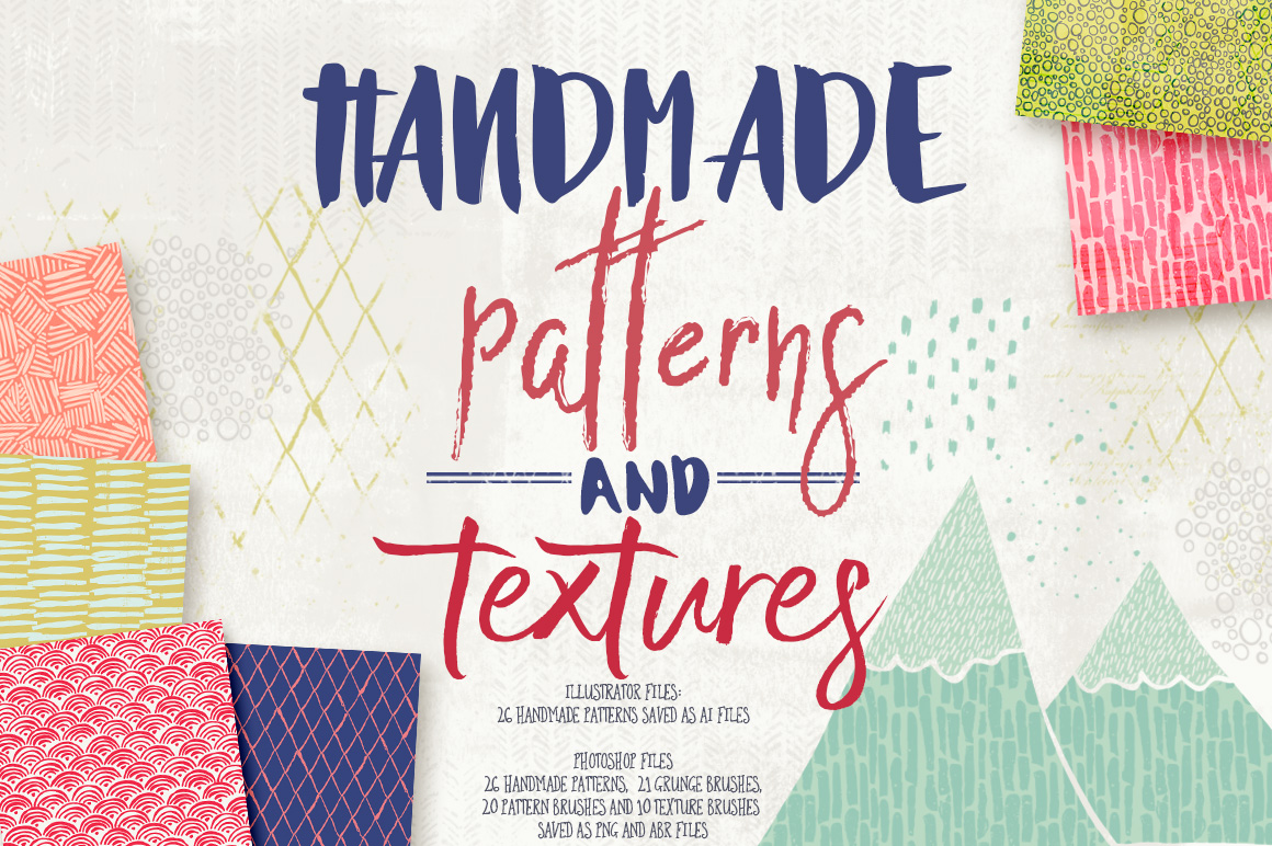 Handmade Patterns and Textures example image 1