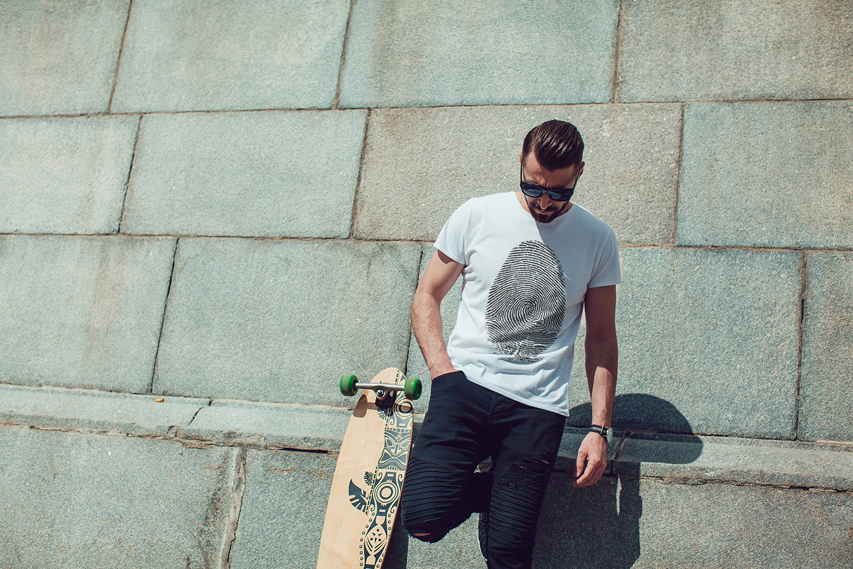 Men's T-Shirt Mock-Up Vol.3 2017 example image 7