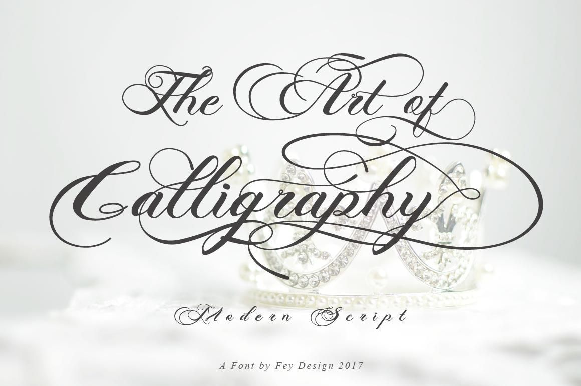 Photograph - Script Wedding Font example image 10
