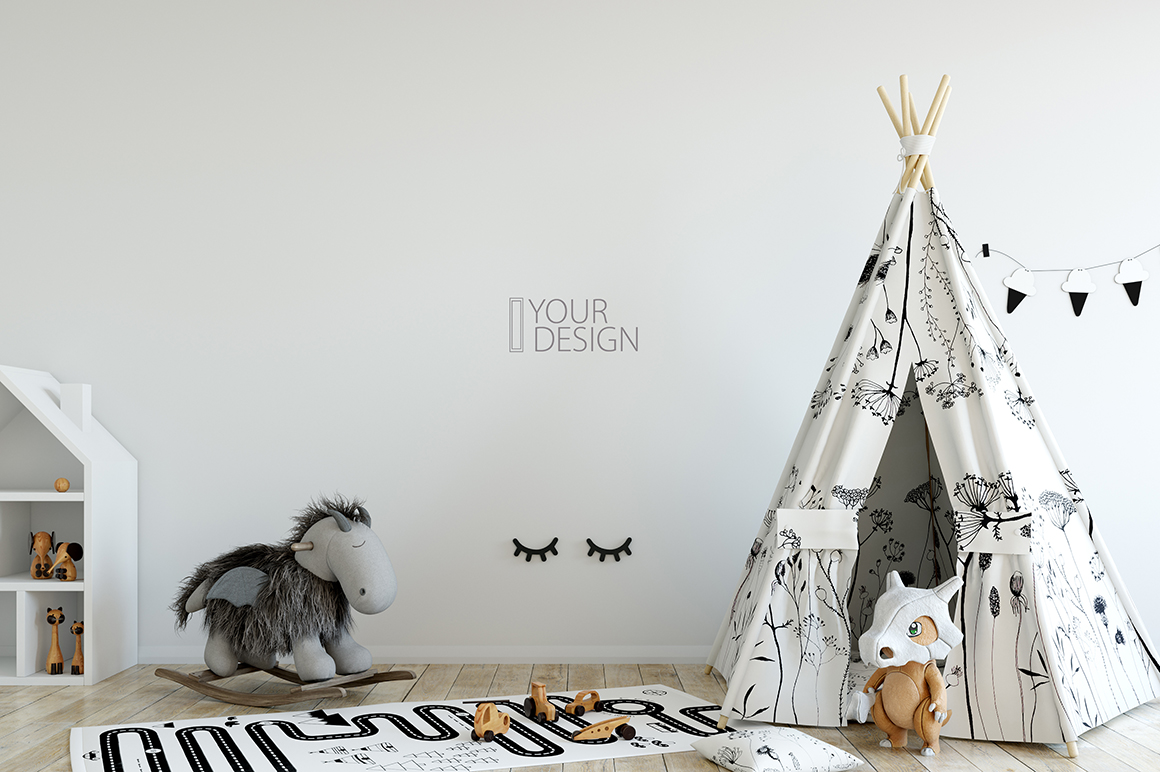 KIDS WALL & FRAMES Mockup Bundle - 2 example image 20