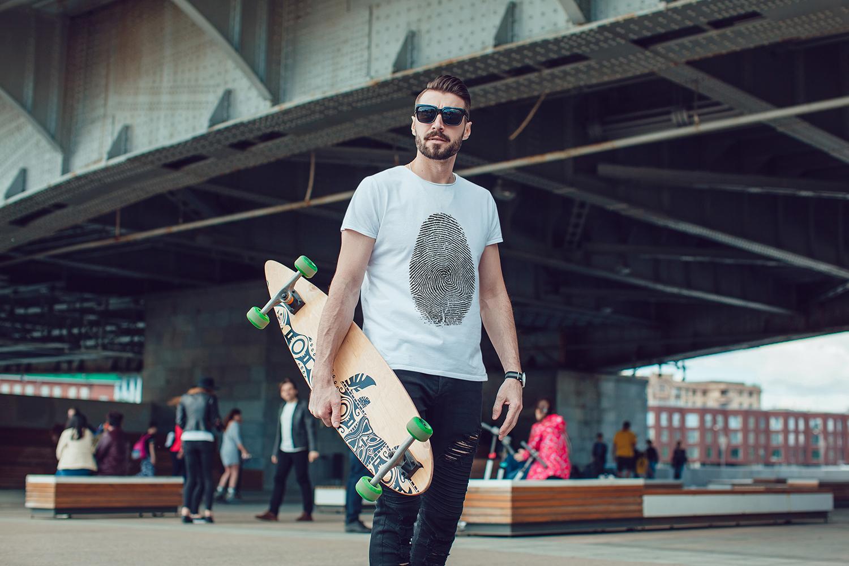 Men's T-Shirt Mock-Up Vol.3 2017 example image 2