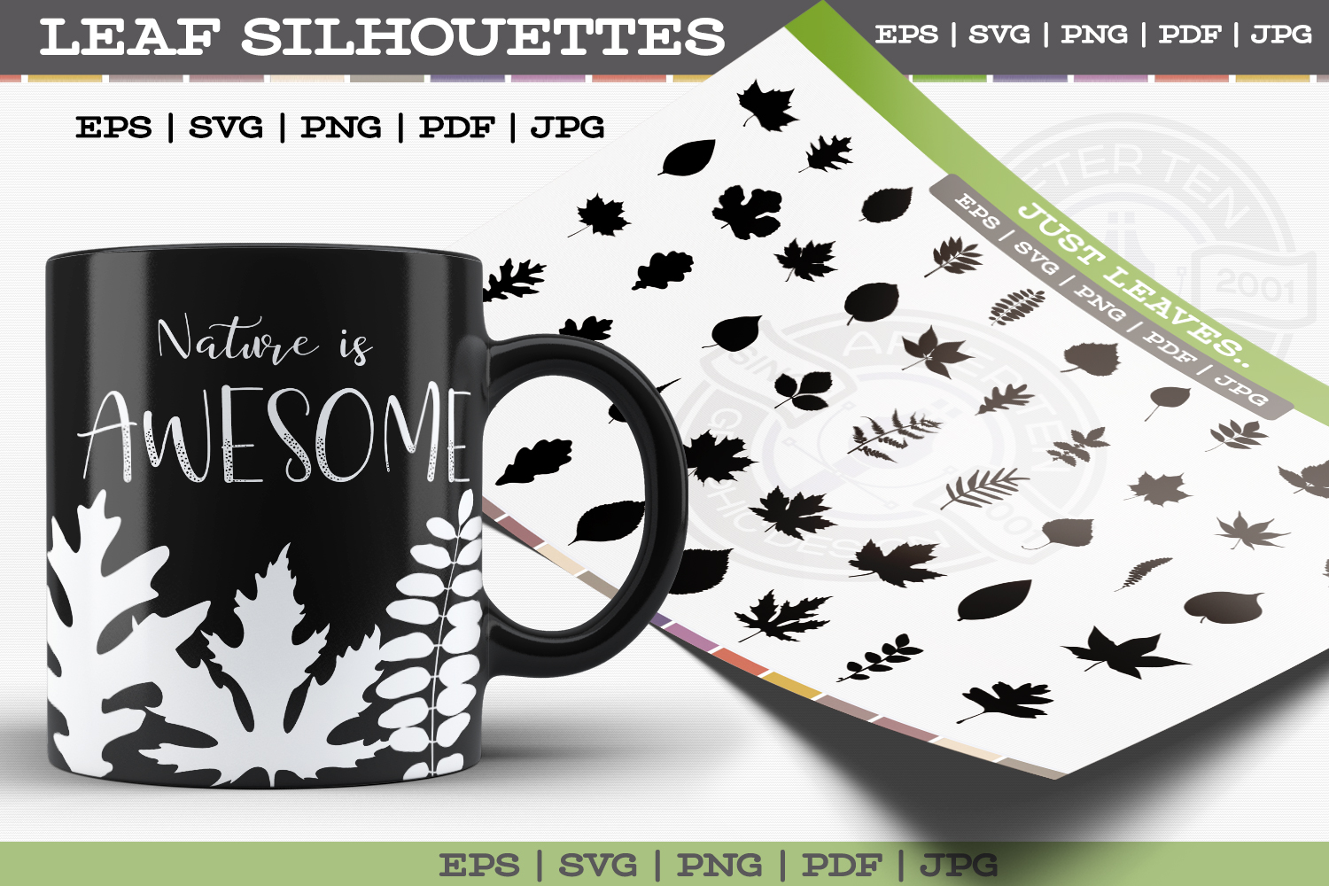 Leaf Silhouettes example image 1