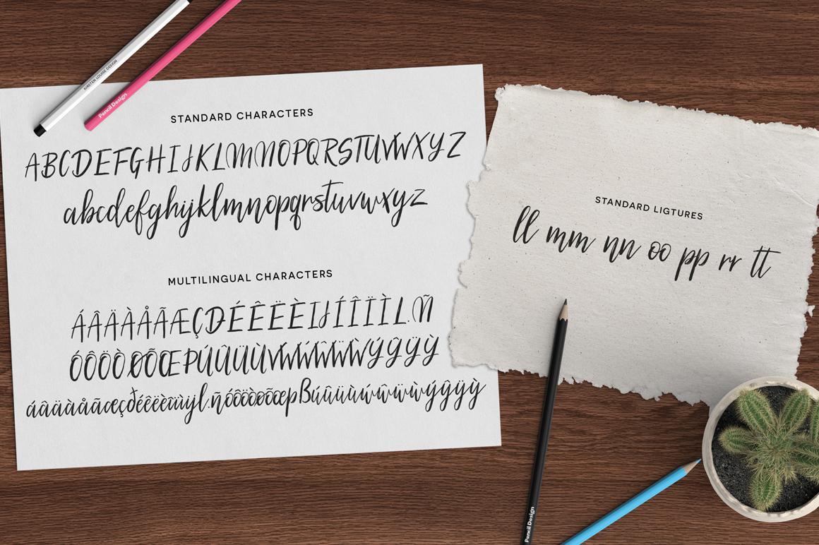 Silhouetto Script Font example image 6