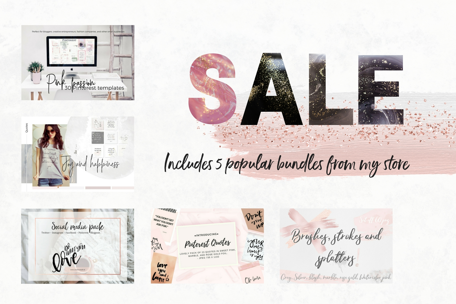 Sale! 5 store bundles example image 1