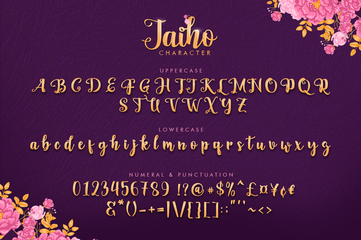 Jaiho Script (Duo Font) example 6