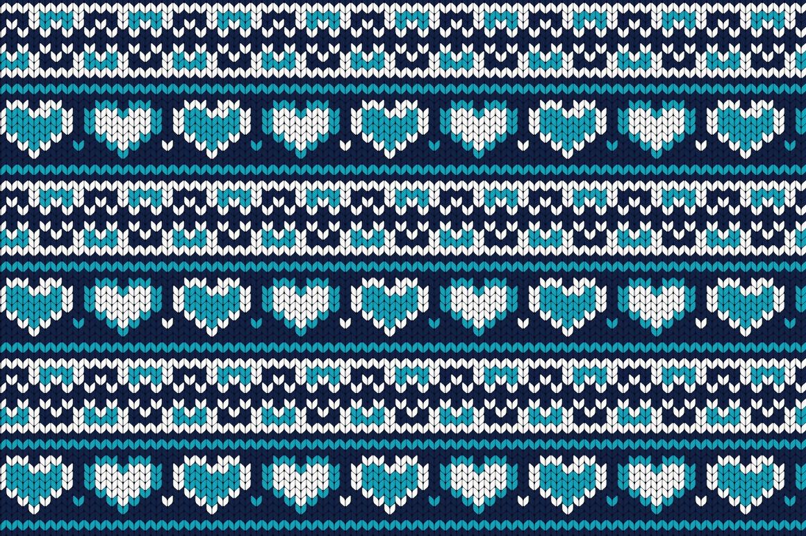 Christmas Seamless Knitting Pattern example image 5