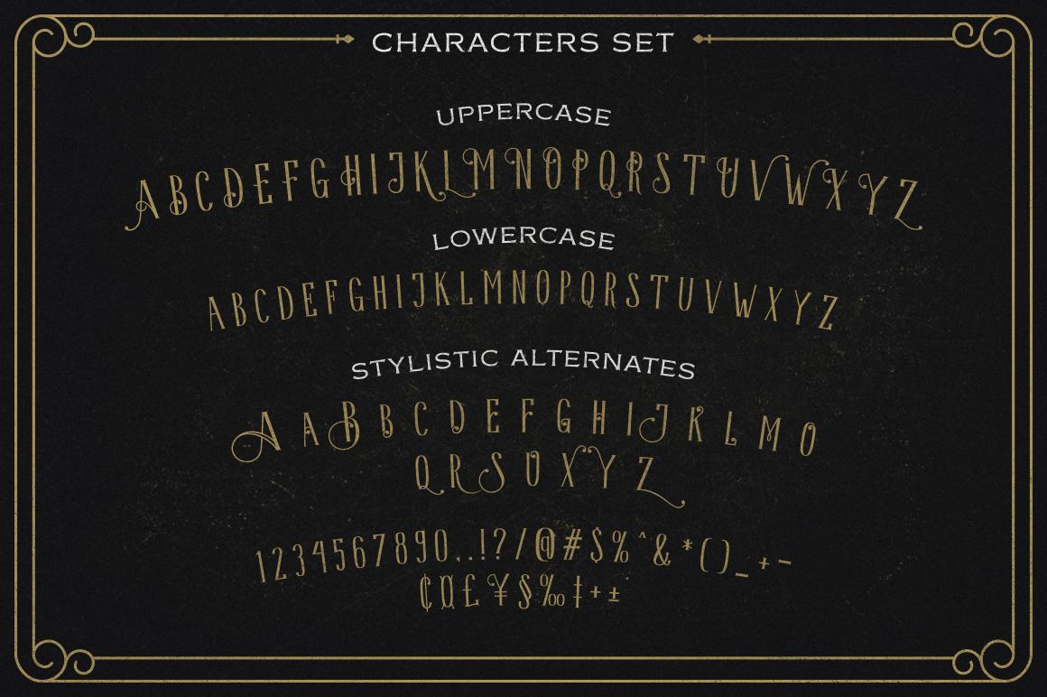 Hava Shine Typeface example image 8