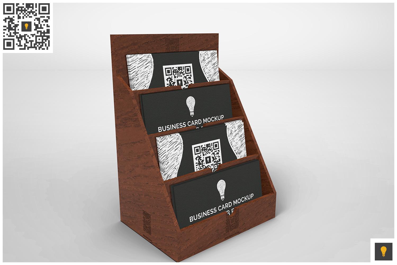 Business Card Holder Mockup by SHOCKY D | Design Bundles