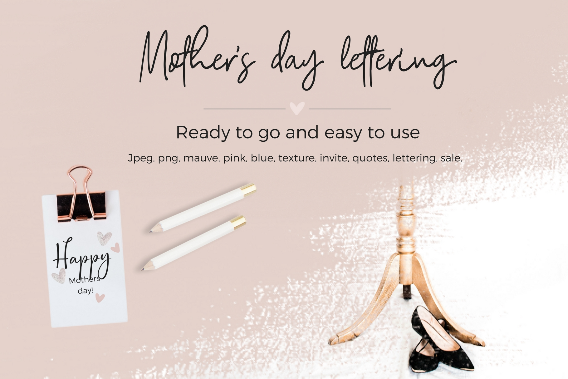 Mother's Day Lettering example image 10