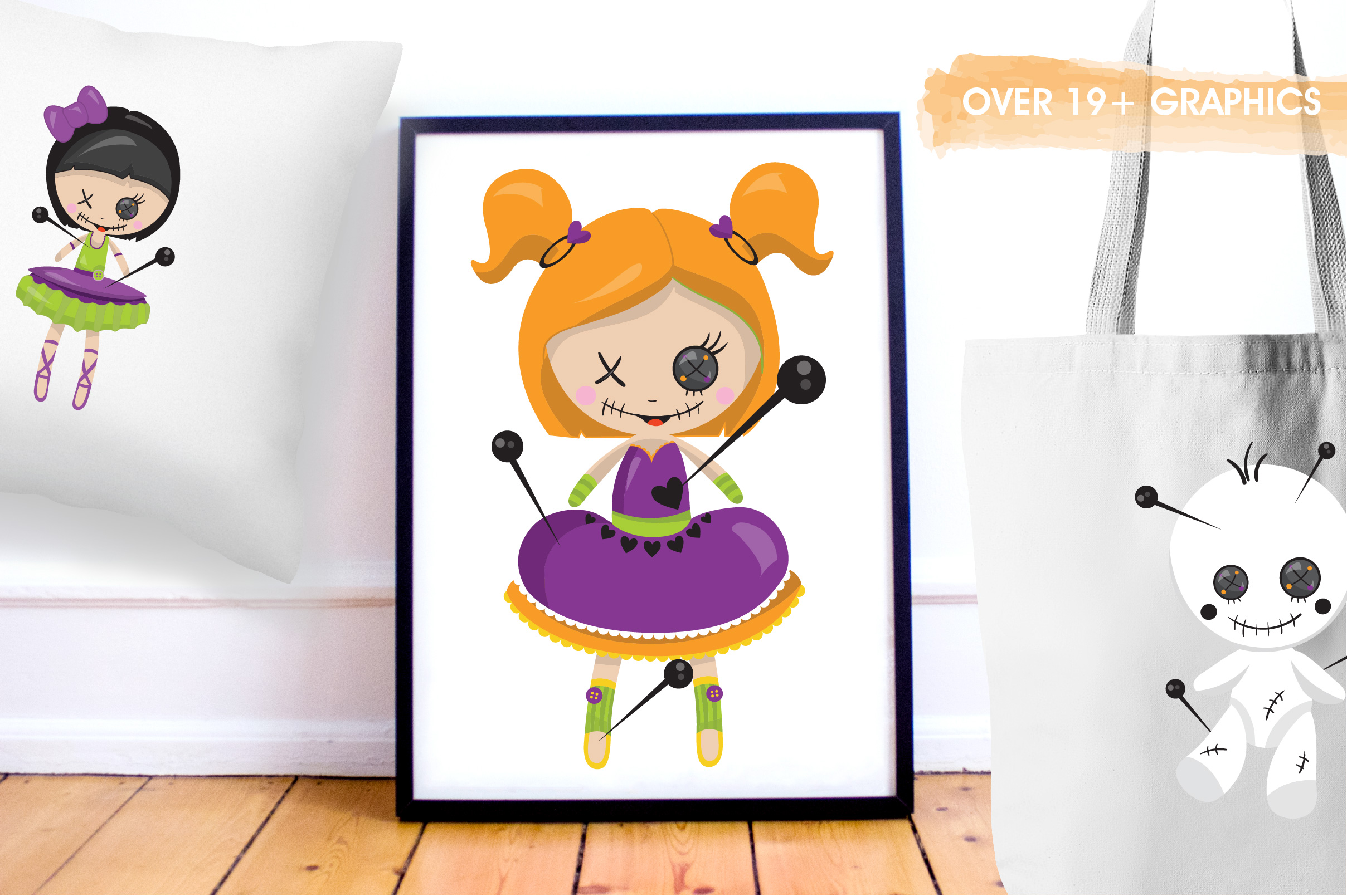 Voodoo dolls graphics and illustrations example image 5