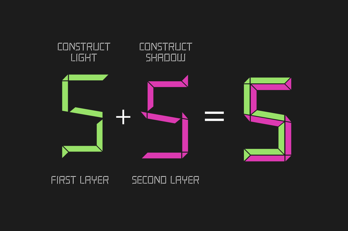 Construct family font example image 5