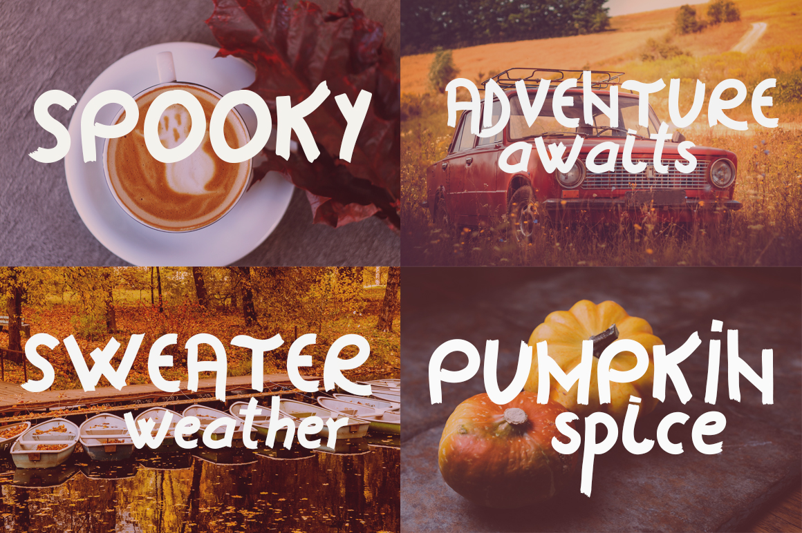 Horror Story Font - A Spooky Brush Font example image 8