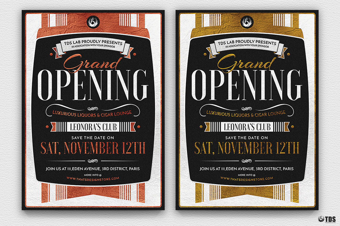 Grand Opening Flyer Template example image 3