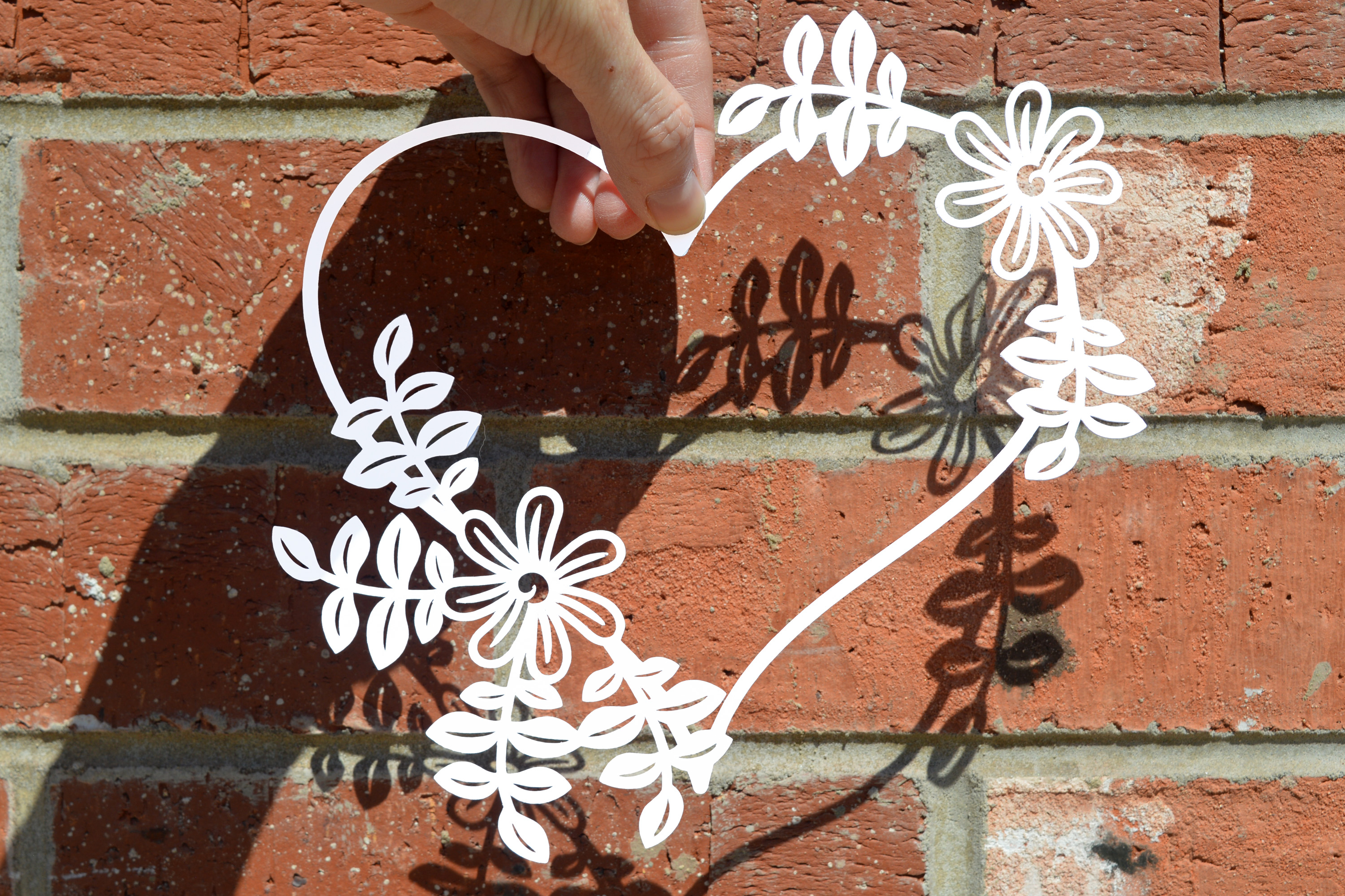 Heart Paper Cut Svg Dxf Eps S Example Image 1