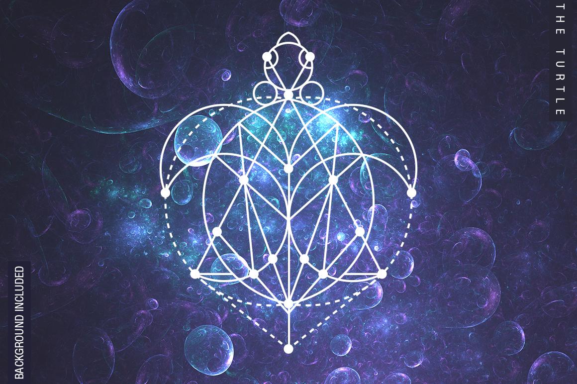 100 Sacred Geometry Symbols  example image 17