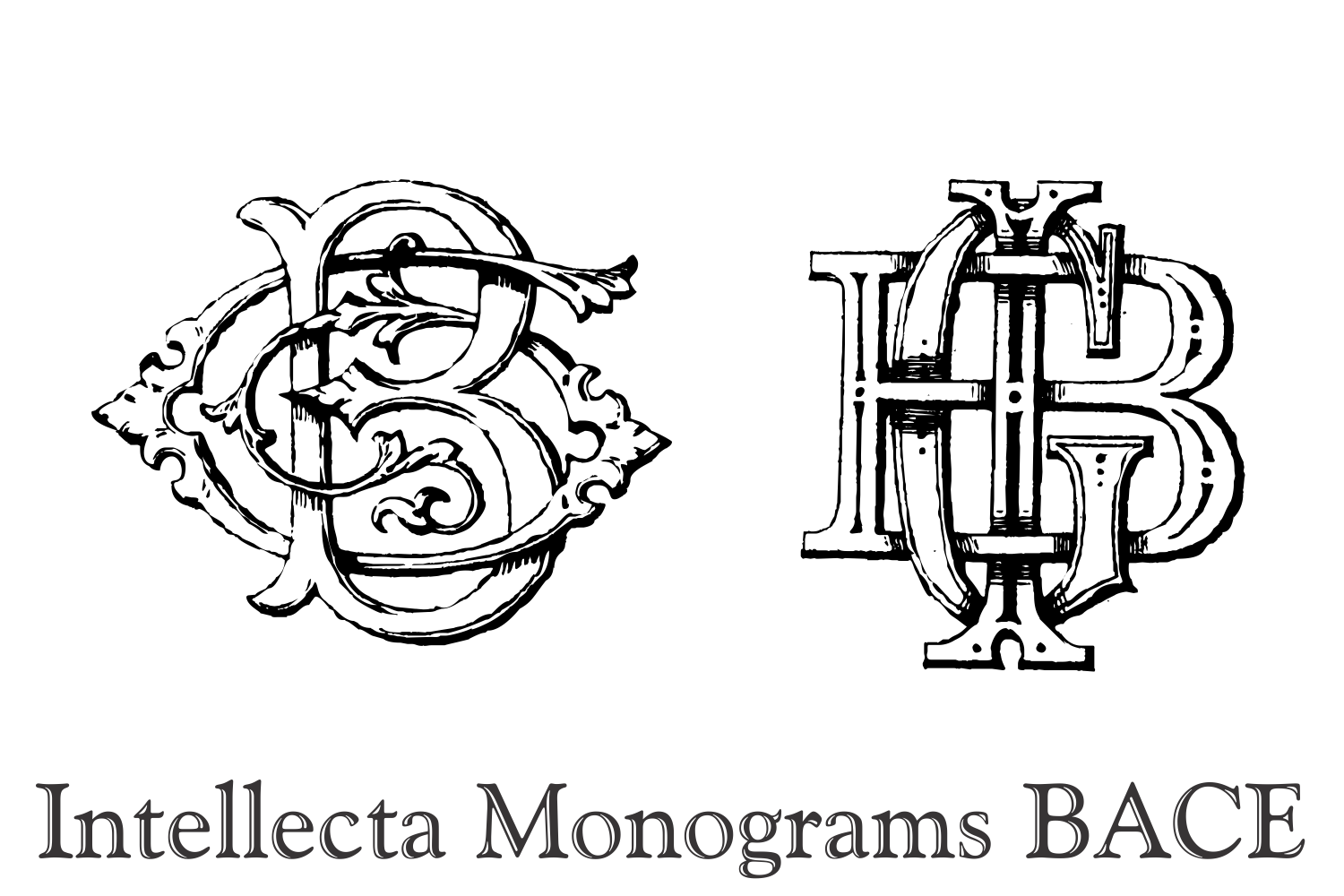 Intellecta Monograms BACE example image 6