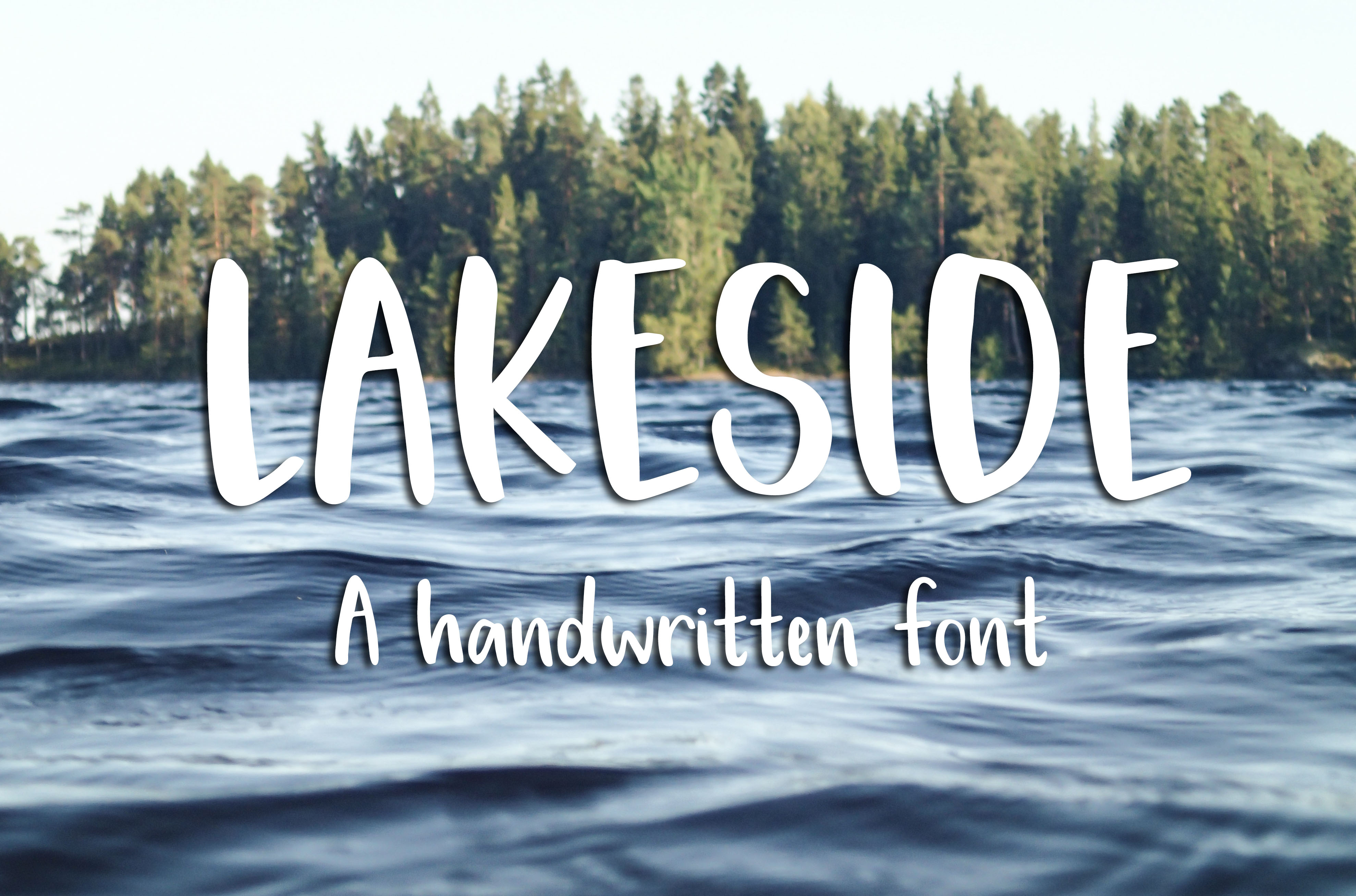 Lakeside Font example image 1
