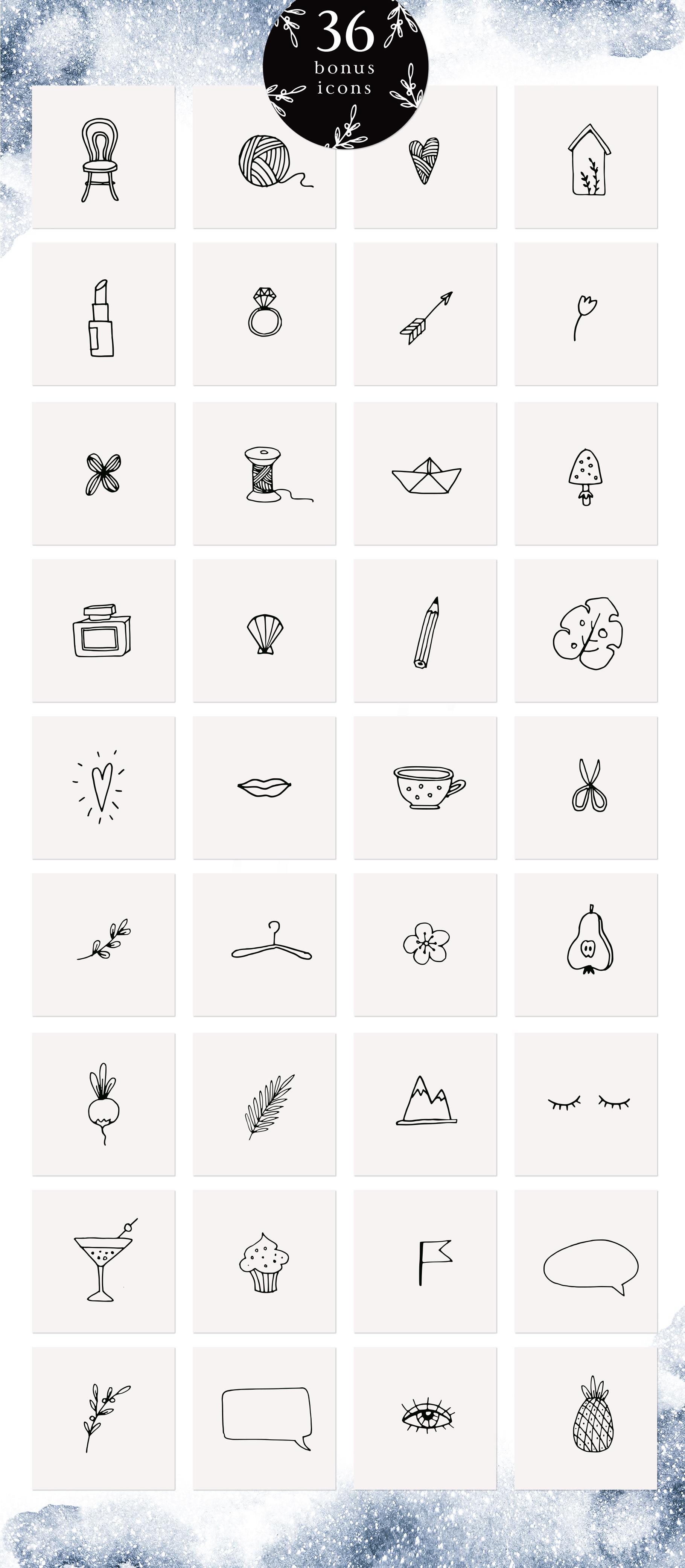 Bright side signature script font+ logos example image 4