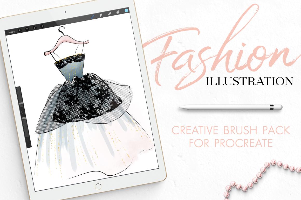 Fashion Illustration Brushes for Procreate example image 1