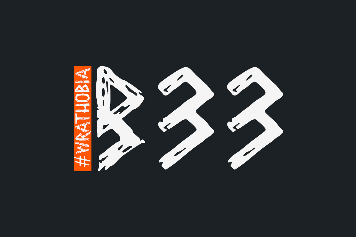 Wrathobia Display Font example image 6