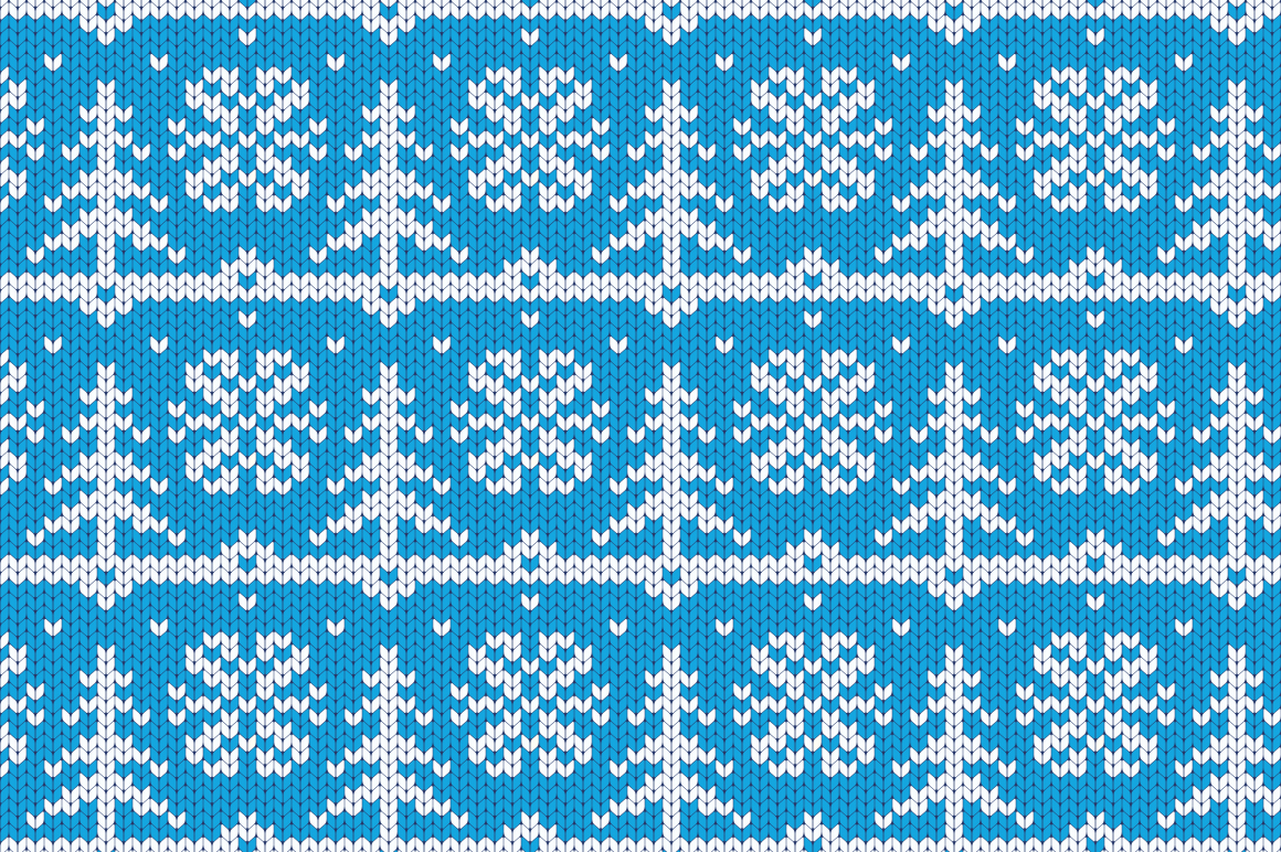 Christmas Seamless Knitting Pattern example image 4