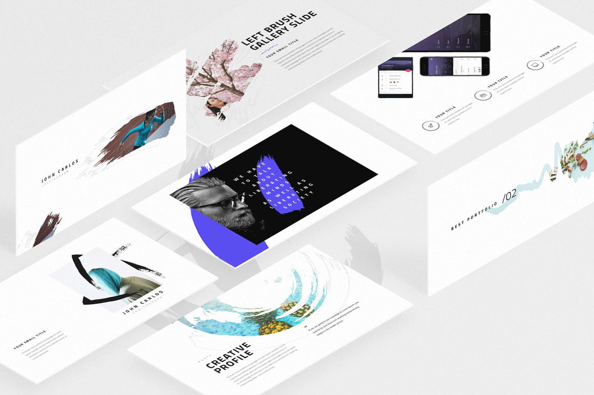 Burte powerpoint template by dublindes design bundles burte powerpoint template example image 1 toneelgroepblik Choice Image