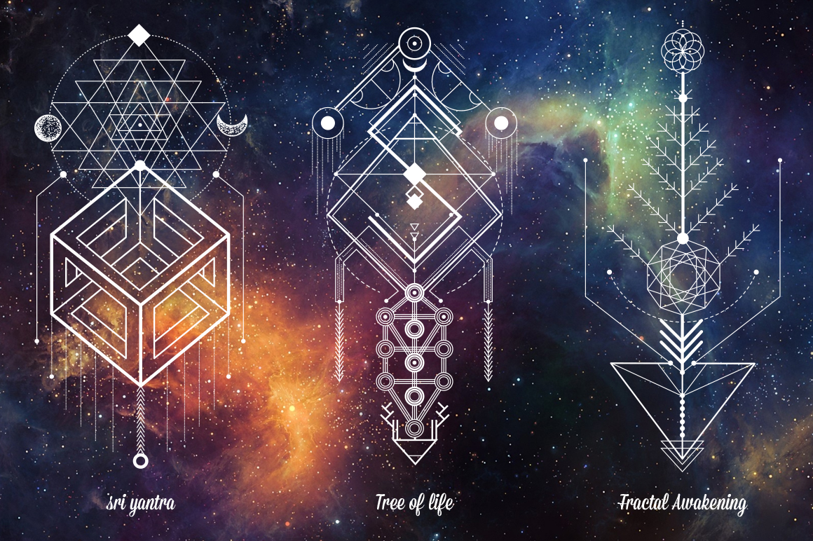Sacred Geometry. Magic totem vol.2 example image 2
