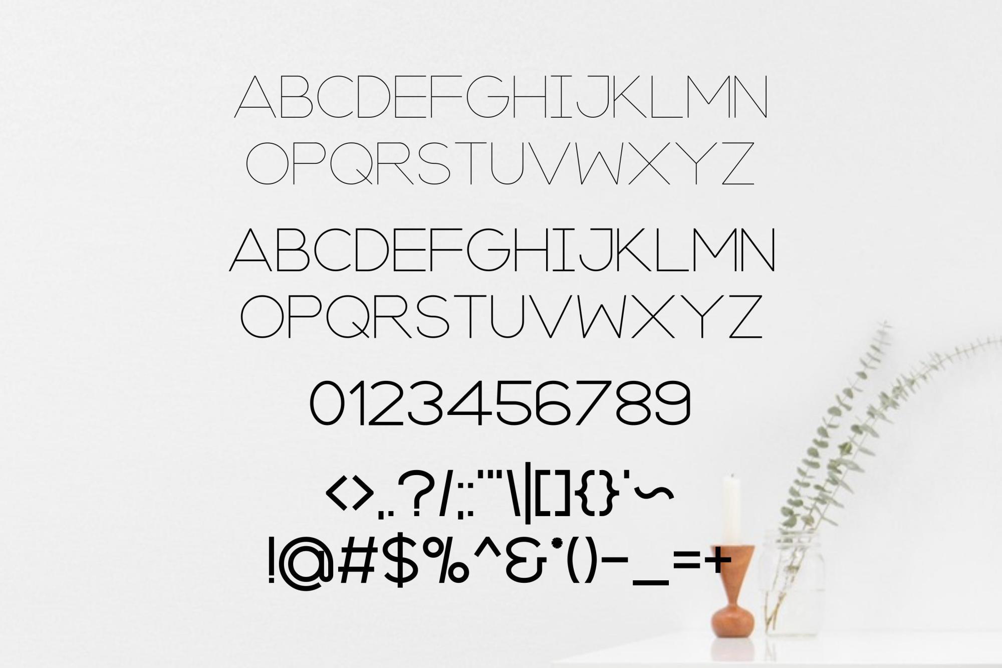 Axon   Minimalist Sans Serif Family example image 4