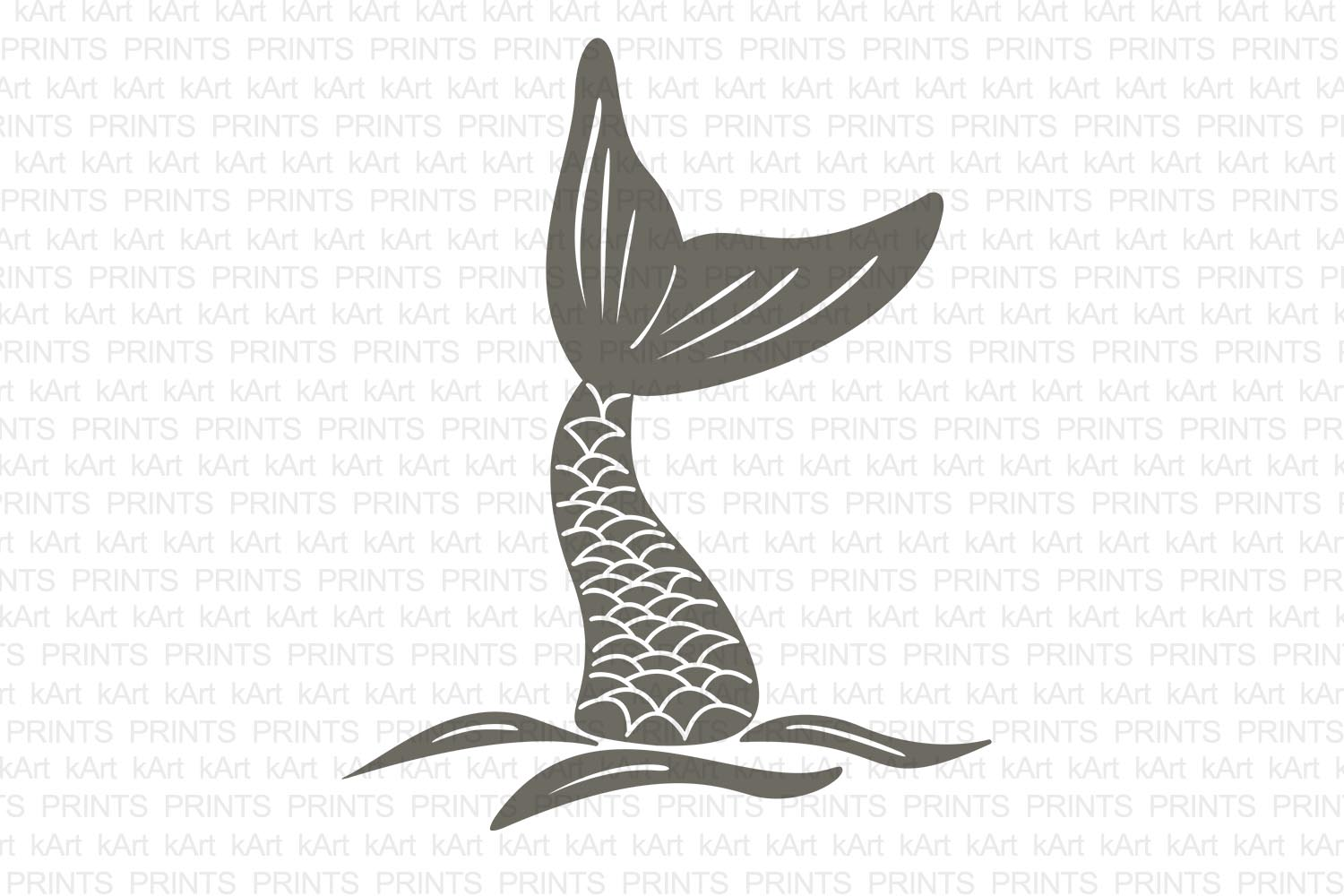 mermaid tail svg, hand drown mermaid tail, fish tail svg, mermaid iron on, hand drawn svg, hand drawn art, hand drawn logo, dxf, png, jpeg example image 2