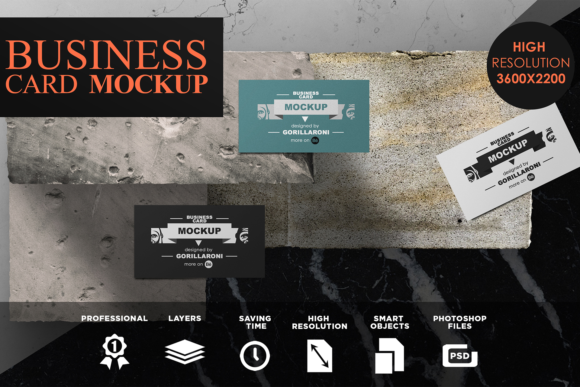 Business card mockup vol 40 by gorilla design bundles business card mockup vol 40 by gorillaroni example image 1 reheart Gallery
