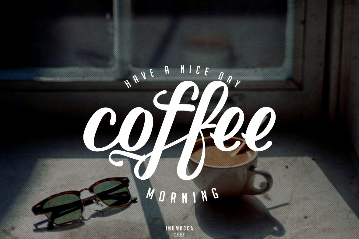 Early Morning Typeface example image 3