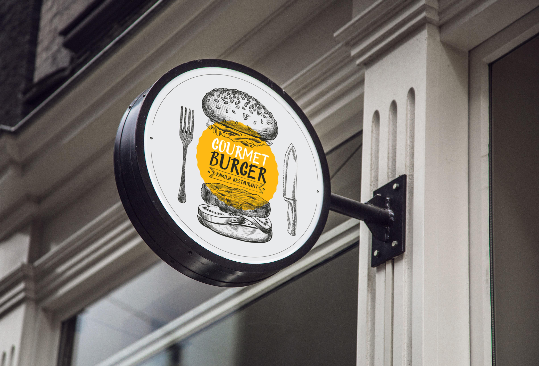 Original Burger Font example image 4
