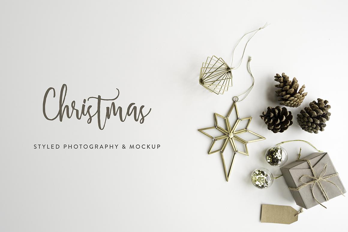 Christmas Styled Photo&Mockup #01 example image 11