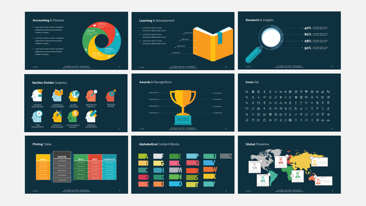 Business presentation template design templates business presentation template cheaphphosting Image collections