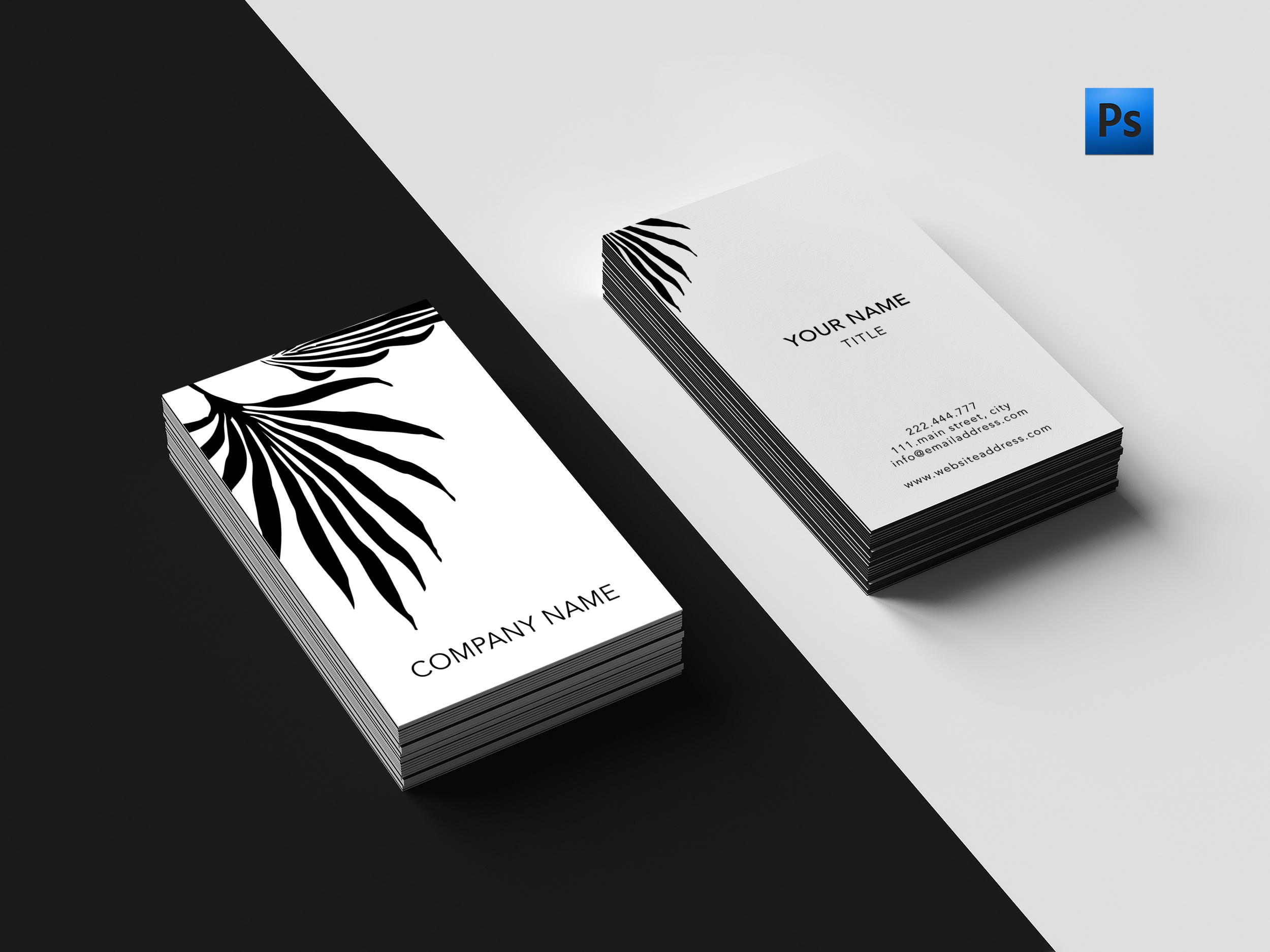 Beautiful art business card by Creative | Design Bundles