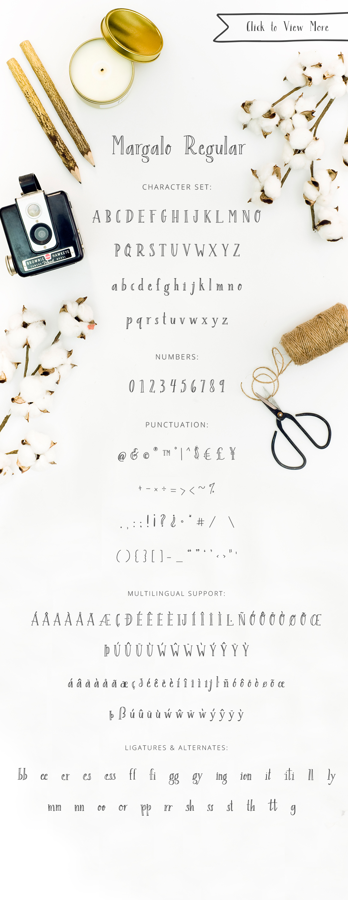 Margalo Font + Extras example image 2
