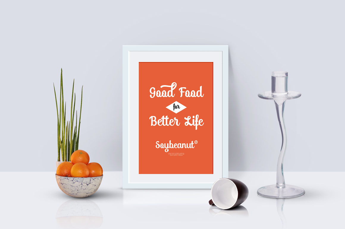 Soybeanut - Brush Script Font example image 9