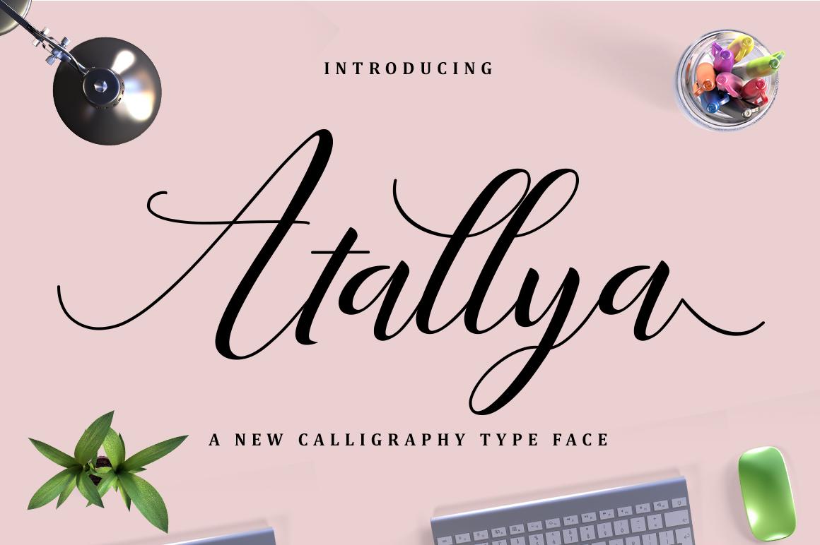 Atallya Script example image 6