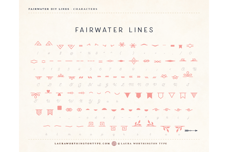 Fairwater DIY Lines example image 22