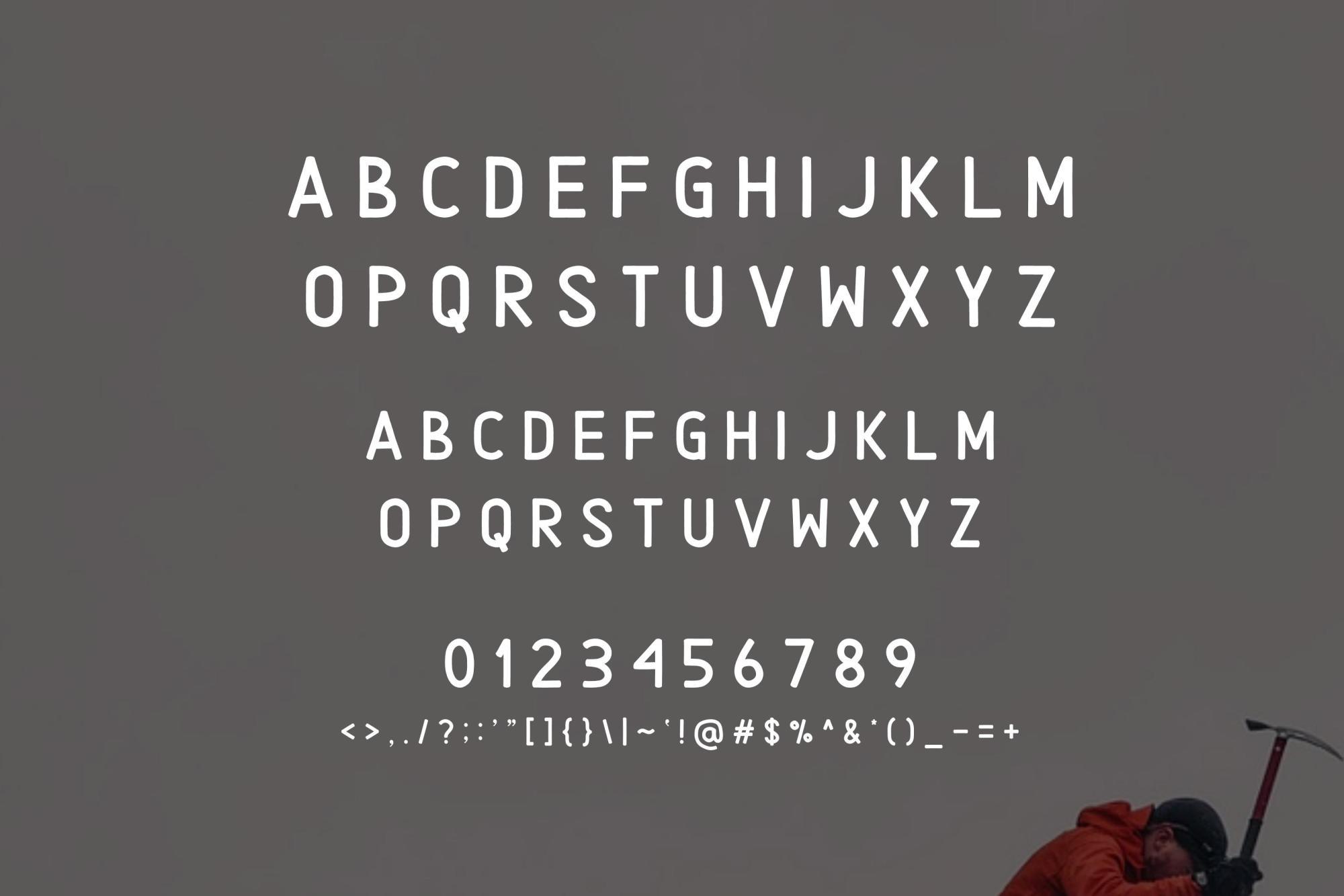 Alaska Typeface Font example image 3