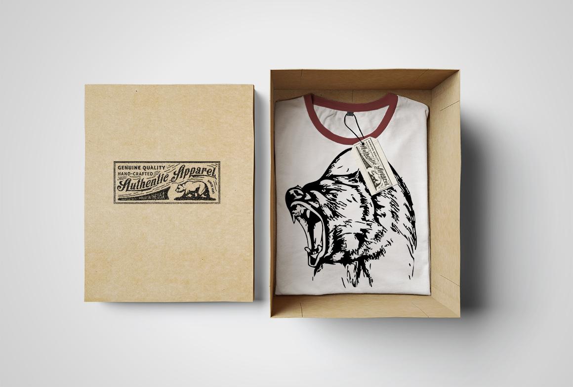 Hand-drawn wild animals example image 4