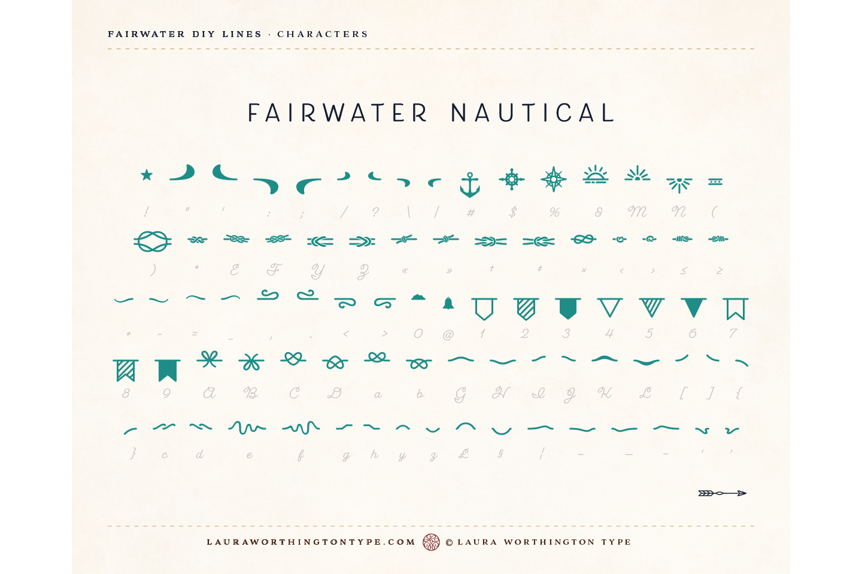 Fairwater DIY Lines example image 28